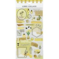 LIBRE COLLAGE yellow
