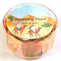 マスキングテープ ーダイカットー 砂漠