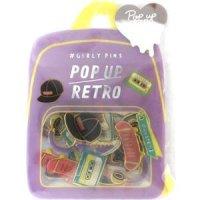 #GIRLY PINS POP UP RETRO スポーティ
