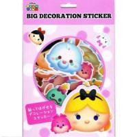 TSUMTSUM BIG DECORATION STICKER  ツムツム・キャラMIX