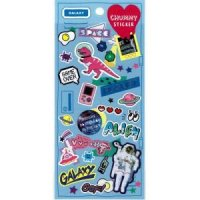 CHUMMY STICKER GALAXY