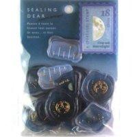 標本箱シール 蝶の世界