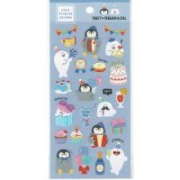 CHILL FRIENDS STICKER PARTY×PENGUIN&SEAL