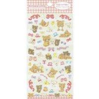 はんなりシール 桜と富士山