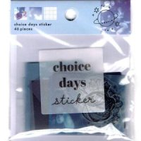 CHARACTER DECO STICKER エイリアン