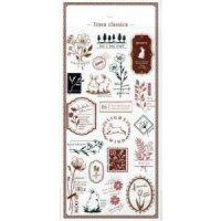 Designer's Flake seal 香水瓶とリボン