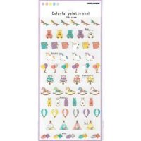 Colorful palette seal KIDS ROOM<img class='new_mark_img2' src='https://img.shop-pro.jp/img/new/icons12.gif' style='border:none;display:inline;margin:0px;padding:0px;width:auto;' />