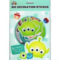 TSUMTSUM BIG DECORATION STICKER  ツムツム・ピクサー