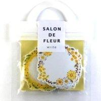 SALON DE FLEUR write yellow