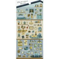 DAILY PRESS seal pastel sky<img class='new_mark_img2' src='https://img.shop-pro.jp/img/new/icons12.gif' style='border:none;display:inline;margin:0px;padding:0px;width:auto;' />