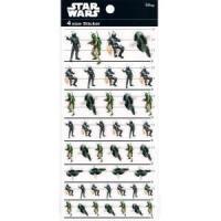STAR WARS 4サイズステッカー バウンティーハンター