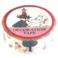 ムーミン デコレーションテープ ウッド