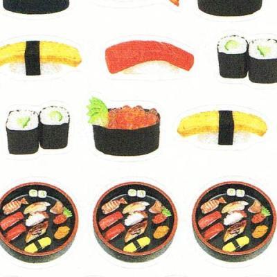 和風ステッカー お寿司1
