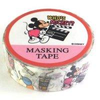 キャラクター マスキングテープ ミッキー&フレンズ