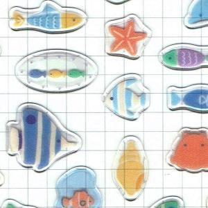 サマーセレクションシール コットン 柴犬とひまわり