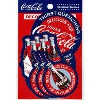 コカ・コーラ デコレーションステッカー red