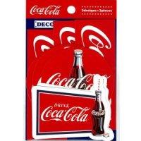 コカ・コーラ デコレーションステッカー navy
