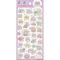 BABYキャラクターシール ばいばいべあ<img class='new_mark_img2' src='https://img.shop-pro.jp/img/new/icons12.gif' style='border:none;display:inline;margin:0px;padding:0px;width:auto;' />