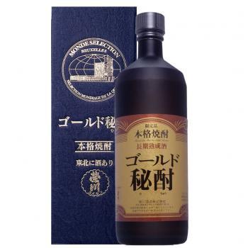 ゴールド秘酎(長期熟成粕取焼酎)