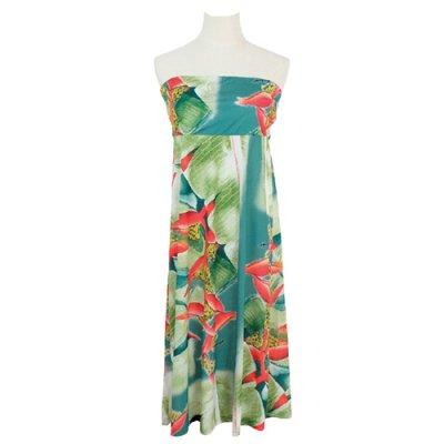 【Sabado】サバドデザイン 2Wayドレス (ヘリコニア)ブルー