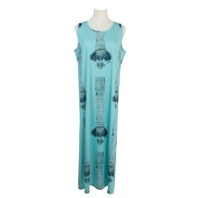 【Sabado】サバドデザイン Aラインドレス (ラウハラ)ターコイズ
