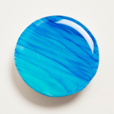 【Luana Ocean Art・ルアナオーシャンアート】  スマートフォンクリップ・オーシャンブルー