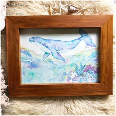 【Etsuko Taguchi】原画:Whale in a dream