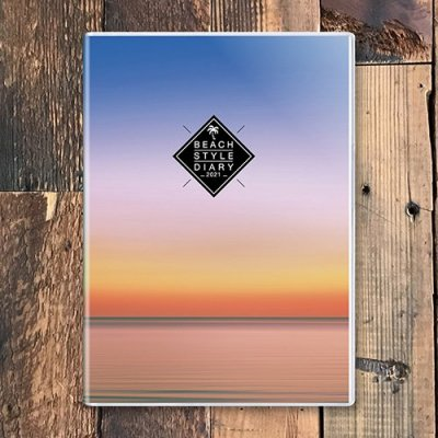 ビーチ手帳2021(Sunset)
