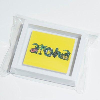 HLC ミニアートマグネット(Aloha Letters)【 TAMO 】
