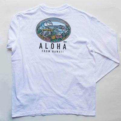 TAMO ロングスリーブ Tシャツ (Country of HAWAII)
