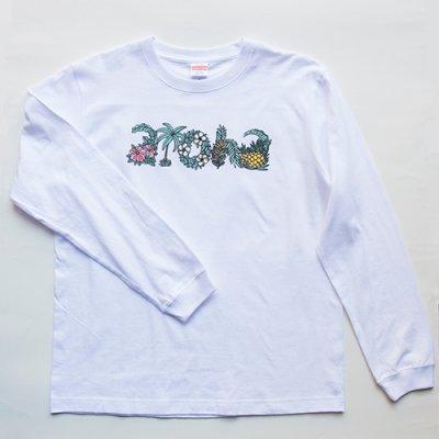 TAMO ロングスリーブ Tシャツ (ALOHA Letters)