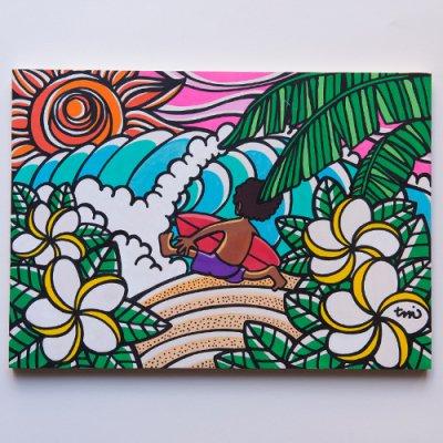 TAMO原画 オリジナルアート 297×420mm(SurfBoy)