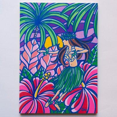 TAMO原画 オリジナルアート 297×420mm(Hula Night)