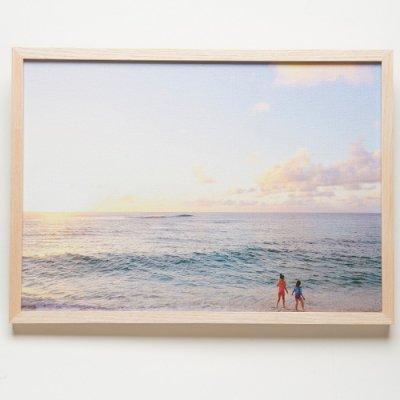 <img class='new_mark_img1' src='https://img.shop-pro.jp/img/new/icons13.gif' style='border:none;display:inline;margin:0px;padding:0px;width:auto;' />【Shoco Hi'ilei】Photo Art フォトアートNorth kids・キャンバスプリント・A3サイズ