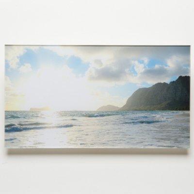 <img class='new_mark_img1' src='https://img.shop-pro.jp/img/new/icons13.gif' style='border:none;display:inline;margin:0px;padding:0px;width:auto;' />【Shoco Hi'ilei】Photo Art フォトアートWaimanalo sunrise・アクリル・A3ワイドサイズ