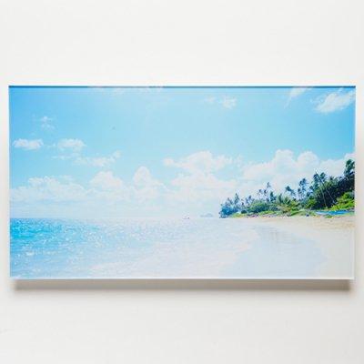<img class='new_mark_img1' src='https://img.shop-pro.jp/img/new/icons13.gif' style='border:none;display:inline;margin:0px;padding:0px;width:auto;' />【Shoco Hi'ilei】Photo Art フォトアートGlitter sea・アクリル・A3ワイドサイズ