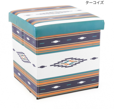<img class='new_mark_img1' src='https://img.shop-pro.jp/img/new/icons25.gif' style='border:none;display:inline;margin:0px;padding:0px;width:auto;' />【tropical collection】収納BOXスツール