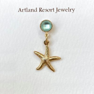<img class='new_mark_img1' src='https://img.shop-pro.jp/img/new/icons13.gif' style='border:none;display:inline;margin:0px;padding:0px;width:auto;' />【Artland Resort Jewelry】マスクチャーム・スターフィッシュ