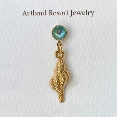 <img class='new_mark_img1' src='https://img.shop-pro.jp/img/new/icons13.gif' style='border:none;display:inline;margin:0px;padding:0px;width:auto;' />【Artland Resort Jewelry】マスクチャーム・巻貝