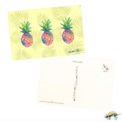 【Lauren Roth】ポストカード Pineapple