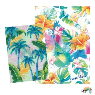 【Lauren Roth】クリアファイル セットB Tropical/Savannah