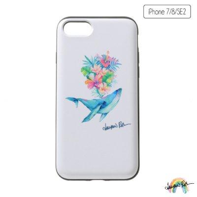 【Lauren Roth】iPhone ケース IC カード収納 Whale