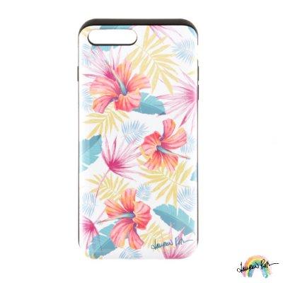 【Lauren Roth】iPhone ケース IC カード収納 Tropic Delight