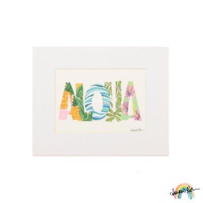 """【Lauren Roth】Aloha【 8 x 10""""  / マットプリント S size】"""