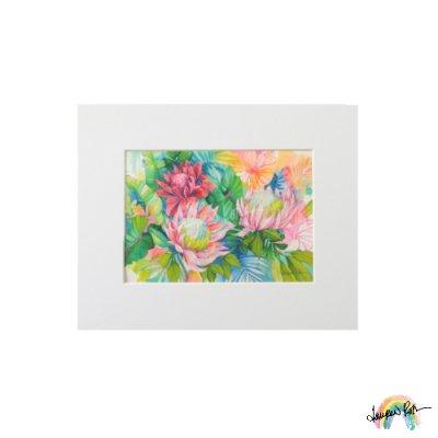 "【Lauren Roth】Rainbow Protea【 8 x 10""  / マットプリント S size】"