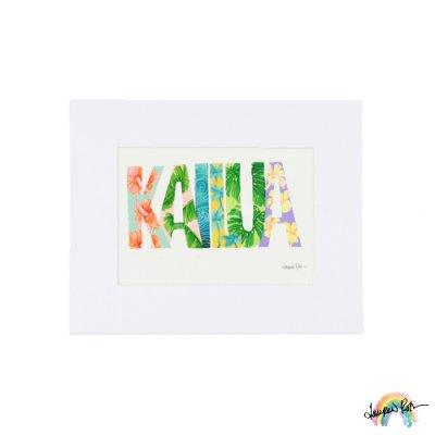 "【Lauren Roth】Kailua【 8 x 10""  / マットプリント S size】"
