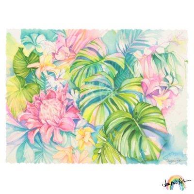 【Lauren Roth】Tropical Meadow【12 x 16