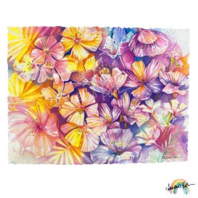 【Lauren Roth】<日本限定> Cherry Blossoms【12 x 16
