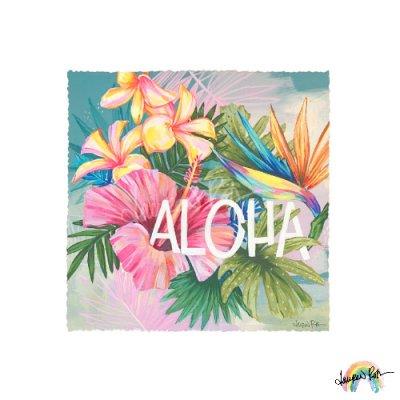 【Lauren Roth】Aloha Flora【14 x 14