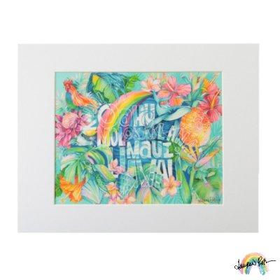 【Lauren Roth】Hawaii Island Names【11 x 14